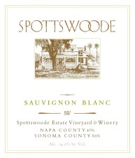 Spottswoode Sauvignon Blanc 2016 (750 ml)