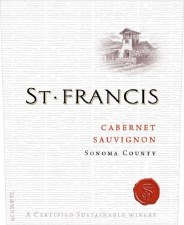 St. Francis Cabernet Sauvignon 2017 750 ml