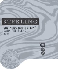 Sterling Vintners Collection Dark Red Blend 2017 750 ml