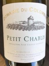 Domaine Du Colombier Petit Chablis 2019 (750ml)