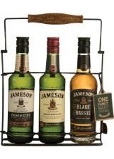 Jameson Whiskey Trilogy 3-Pack (Caskmates, Original, Black Barrel)