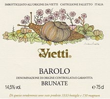 Vietti Brunate Barolo 2012 (750 ml)