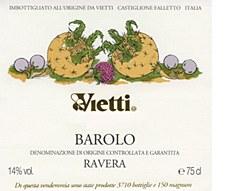 Vietti Ravera Barolo 2012 (750 ml)