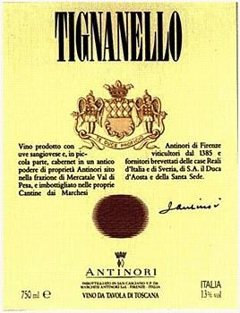 Antinori Tignanello 2015 (750 ml)