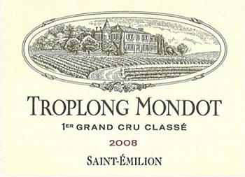 Troplong Mondot 1er Grand Cru Classe 2008 (750 ml)
