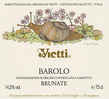 Vietti Brunate Barolo 2012 (750 ml)