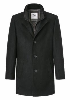S4 North Mile Wool Coat 38  Navy