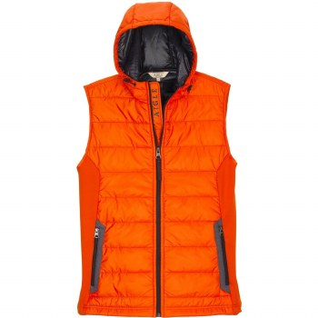 Aigle Burgsonvest Hooded Gilet M Pavot