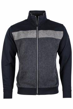 Baileys Full Zip Block Sweatshirt t XL Navy/Grey-105