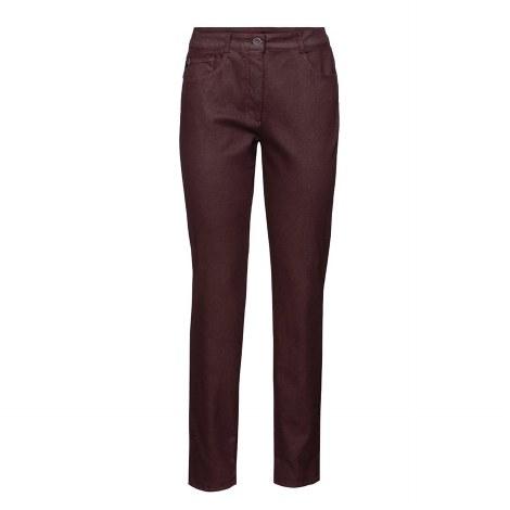 Bianca Shape Coated Jeans 12 322-Wine