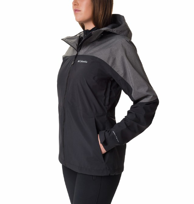 Columbia Evolution Valley Jacket S Charcoal