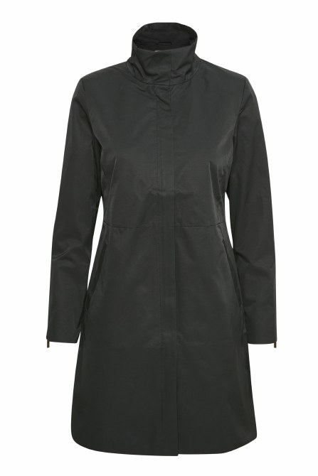 Part Two Carvina Padded Coat 14 Black