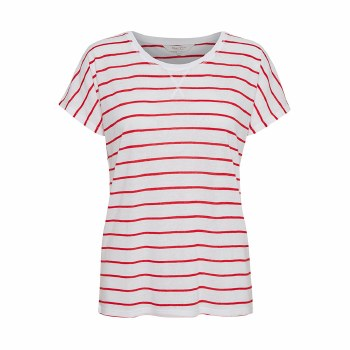 Part TWo Kato Stripe T-Shirt M Red