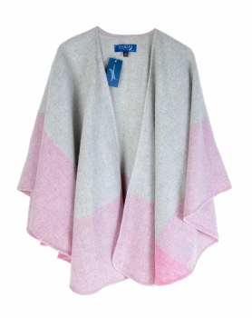 Fishers Cape  Grey/Pink-704