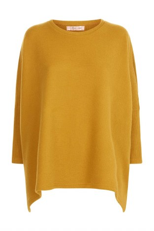 Traffic People Rib Knit S Mustard