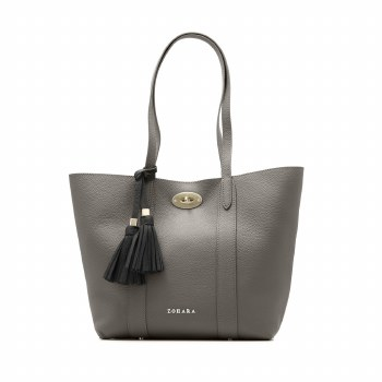 Zohara Strand Soft Tote Pewter Grey