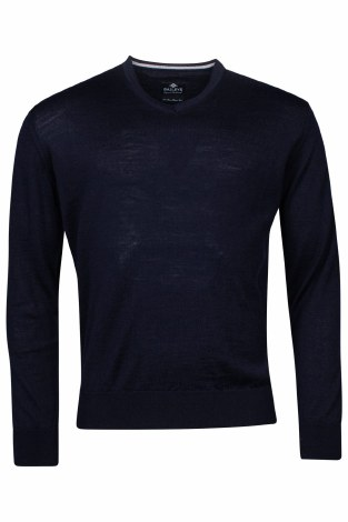 Baileys Merino V Neck Jumper XL Navy