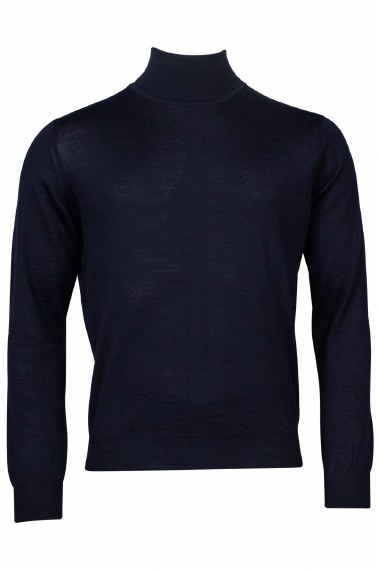 Baileys Merino Polo XL Navy 105