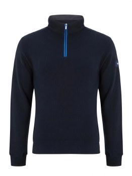 Benetti George Quarter Zip L Navy