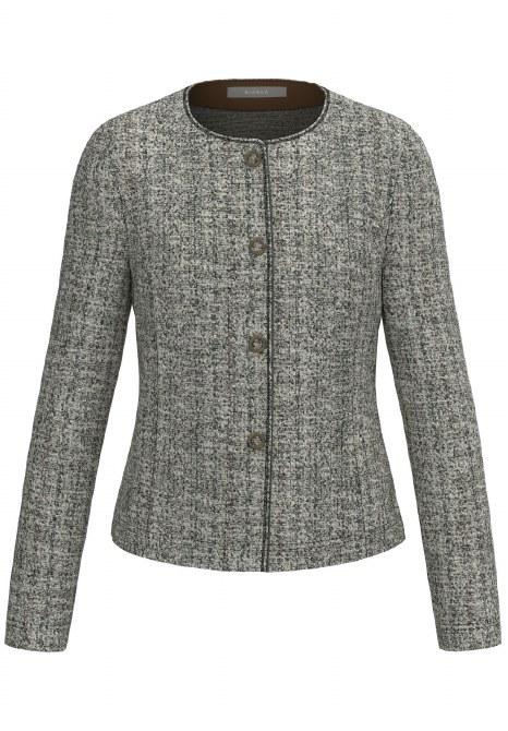 Bianca Sparkle Weave Jacket 10 Grey