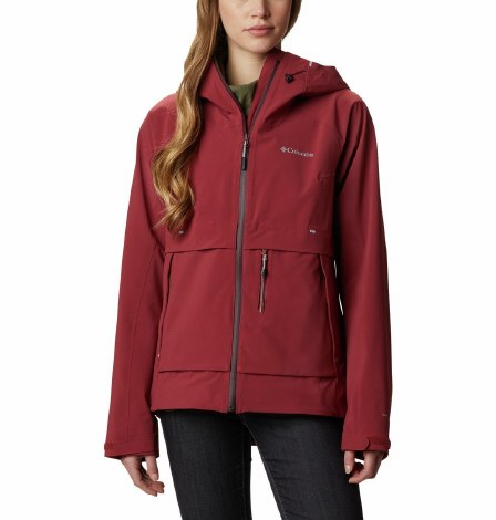Columbia Beacon Trail Shell Jacket S Marsala Red