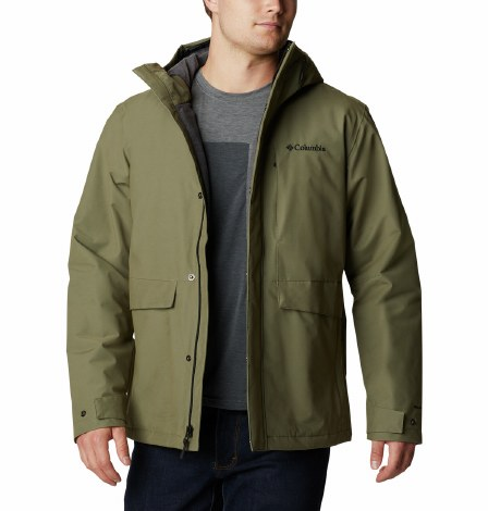 Columbia Firwood Jacket S Stone Green
