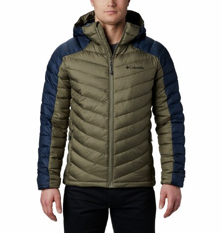 Columbia Horizon Explorer Hooded Jacket S Stone Green