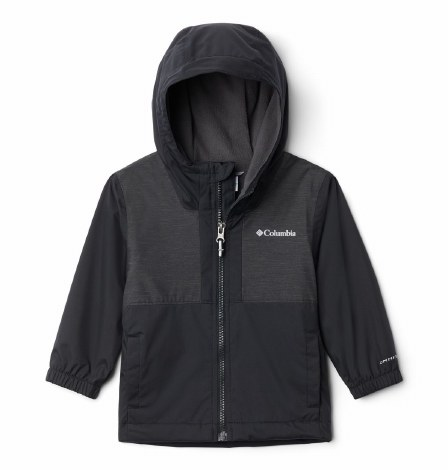 Columbia Rainy Trails Coat XS Black
