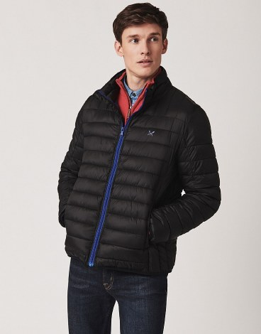 Crew Lowther Quilted Jacket XL Black