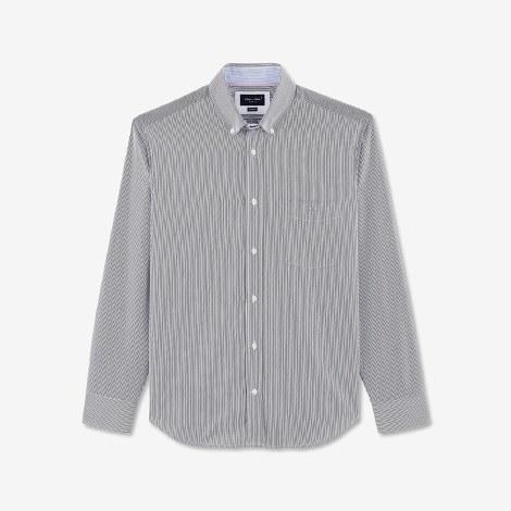 Eden Park Stripe Shirt M Navy