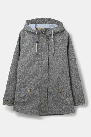 Lighthouse Tori Floral Print Coat 8 Grey