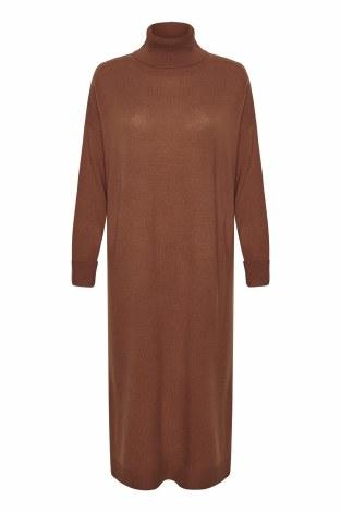Part Two Ele Knit Dress XL Hazel Brown
