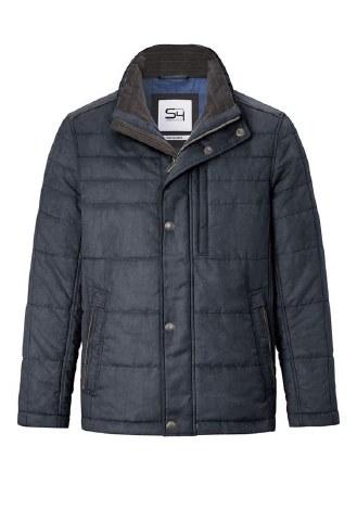 S4 Tizian Eco Leather Jacket 44  Navy
