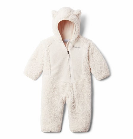 Columbia Foxy Baby Sherpa Suit 3-6 months Chalk