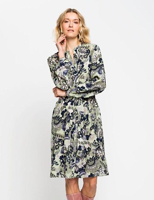 Olsen Floral Shirt Dress