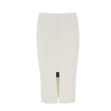 Henerietta Steffenson Tube Skirt S Off White