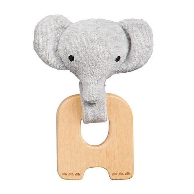 Petit Collage Little Elephant Organic Teether