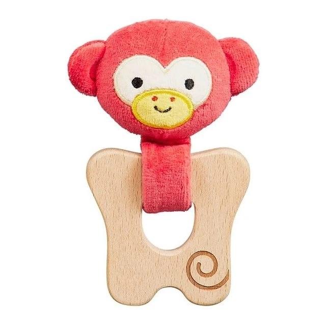Petit Collage Little Monkey Organic Teether
