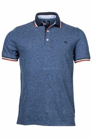 Baileys Pique Melange Poloshirt 3XL Navy