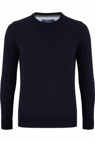 Benetti Crew Neck Jumper 3XL Navy