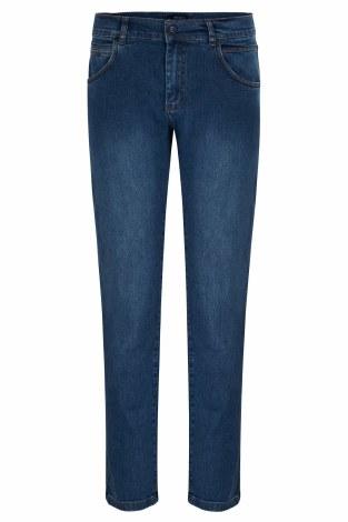 Benetti Diego 5 Pocket Jeans 34R Mid Wash