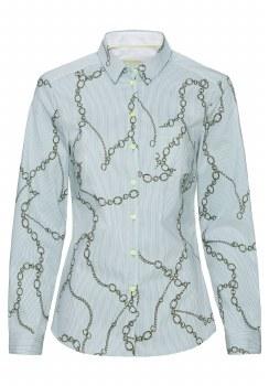 Bianca Doena Print Shirt 10 Mint