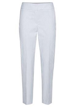 Bianca Stripe Trousers 16 White/Blue