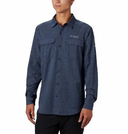 Columbia Irico Active Shirt L Navy