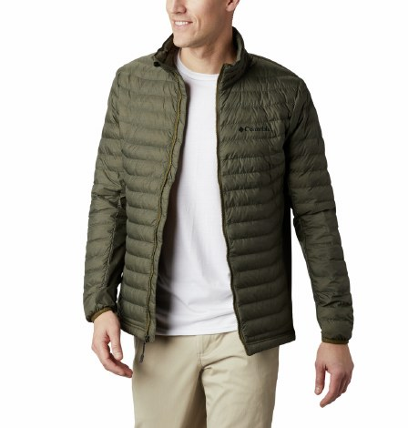 Columbia Power Pass Jacket L Olive Heather
