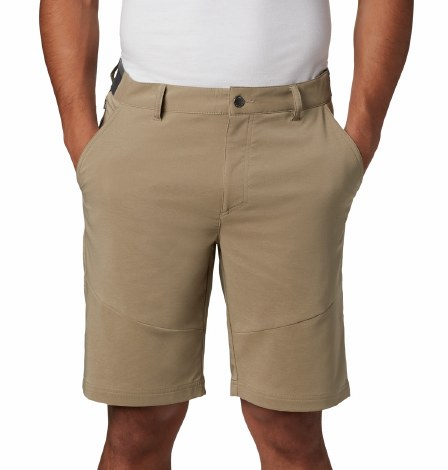 Columbia Tech Trail Shorts 44  Tusk