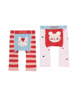 Joules Lively Leggings 0-6m Mouse