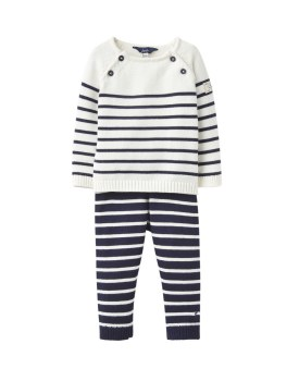 Joules George Knit Set 6-9m Navy