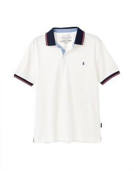 Joules Hanfield Poloshirt  M White