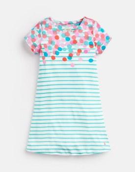 Joules Riviera Dress 3yr Blue Stripe